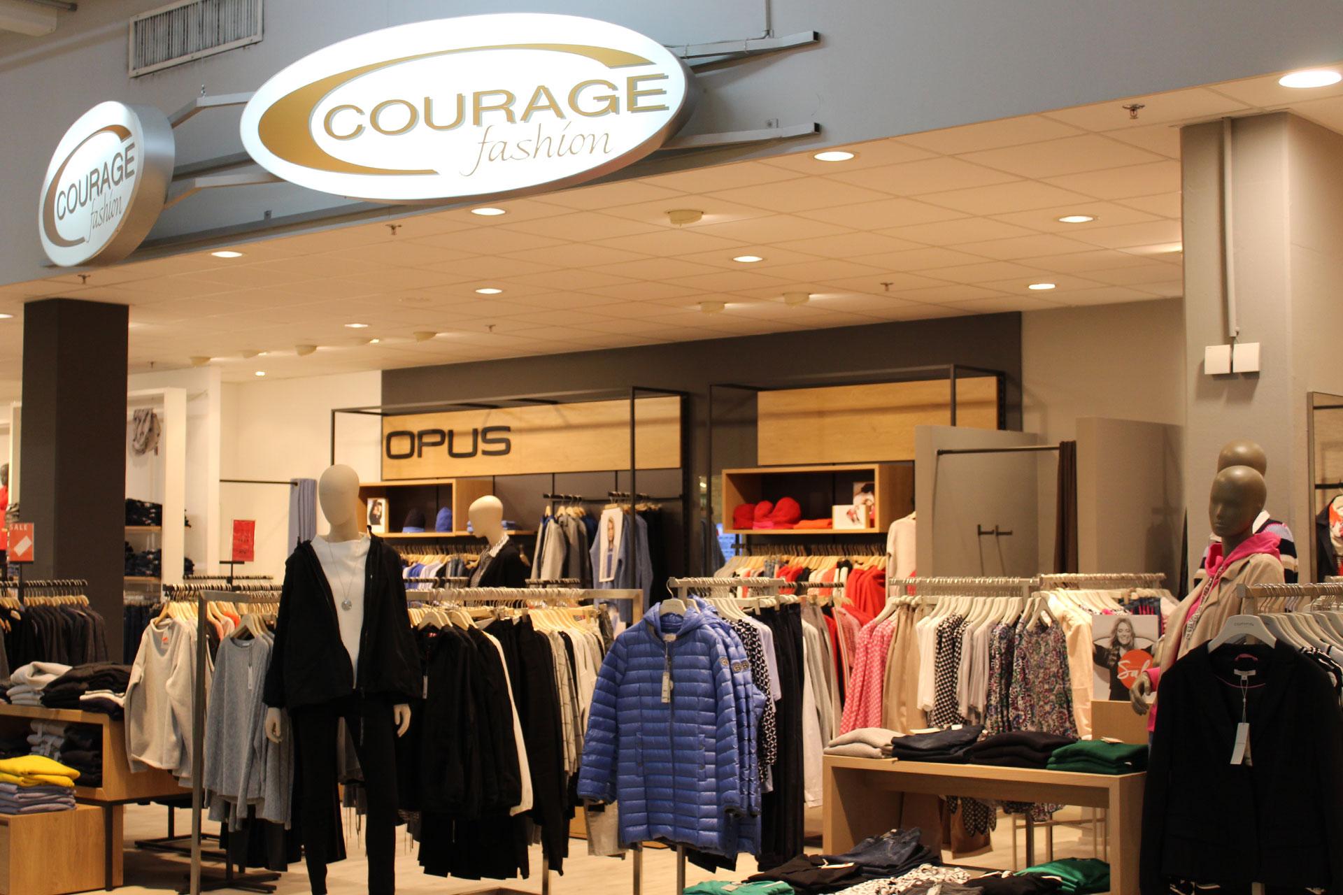 Courage Fashion im Globus Saarlouis